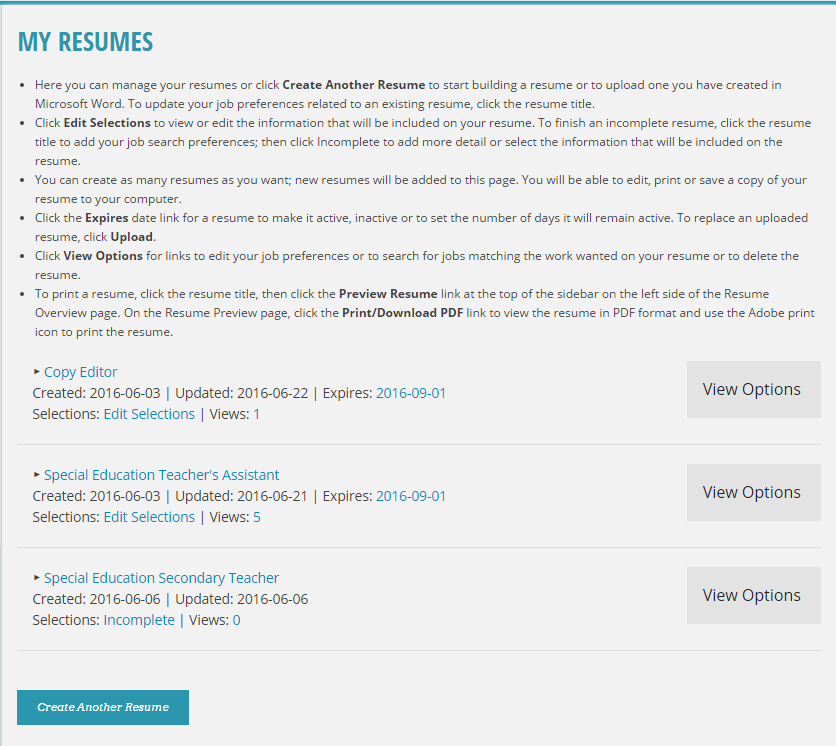 view resume exles of resumes exle resume format view